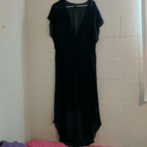 Forever 21+ sheer dress